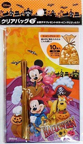 ディズニー ミッキー&ミニー ハロウィン クリアバッグ S (パイレーツ) 10枚入り,ハロウィン,ディズニー,