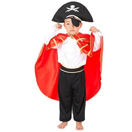 FUN fun(ファンファン) ハロウィン コスプレ 衣装 パイレーツ 海賊 男の子 110~130cm,ハロウィン,衣装,子供