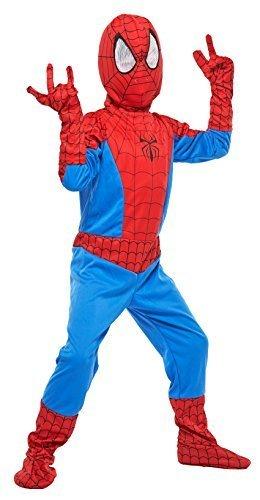 マーベル スパイダーマン キッズコスチューム 男の子 100cm-120cm 802942S,ハロウィン,衣装,子供