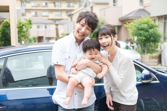家族でドライブ,旅行,乳幼児,dポイント