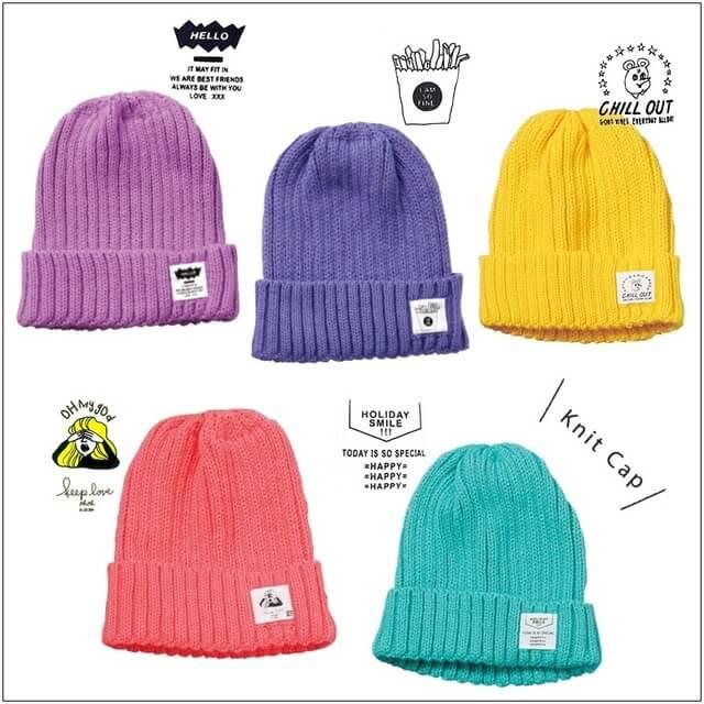ニット帽カラフルニット帽,ダイソー,人気商品,