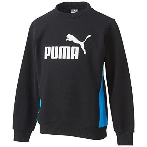 (プーマ)PUMA FD クルースウェット 920168 01 ブラック 130,子供,トレーナー,