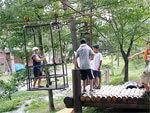 白馬グリーンスポーツの森 自然体験村,長野,アスレチック,自然