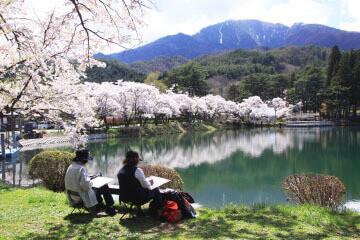与田切公園,長野,アスレチック,自然