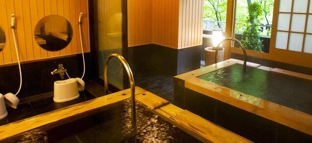貸し切り露天風呂「きはだ」,鬼怒川温泉ホテル,口コミ,