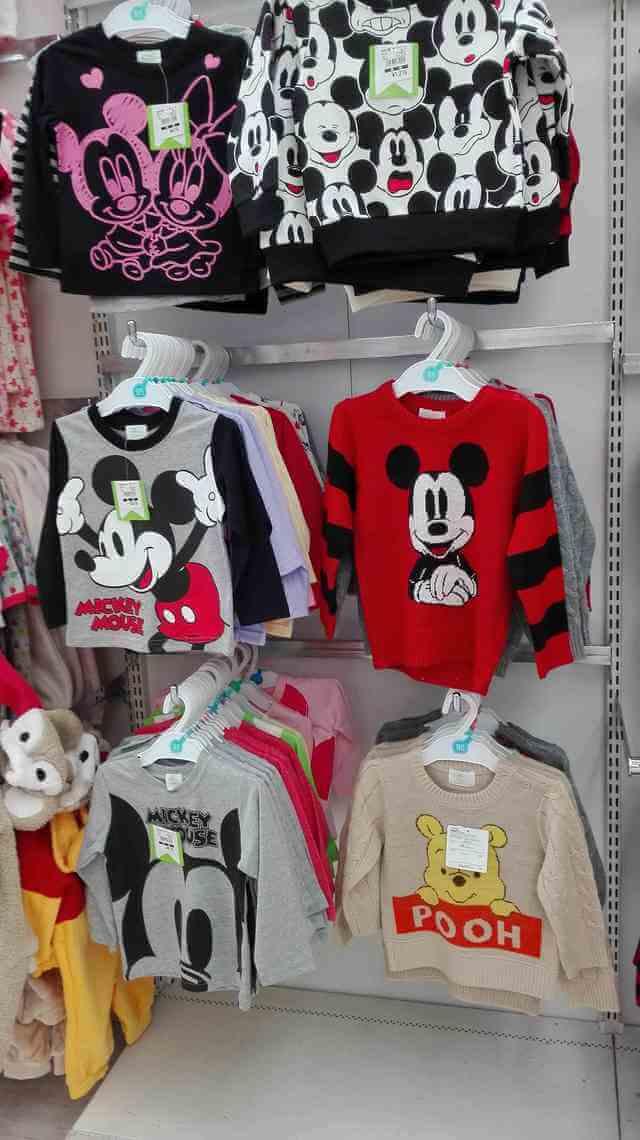 オリジナル ディズニーTシャツ,西松屋,ディズニー,