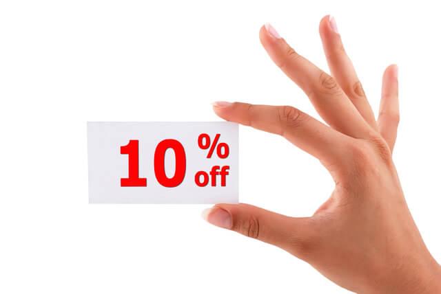 実質10%オフ,dポイント,家族,カード