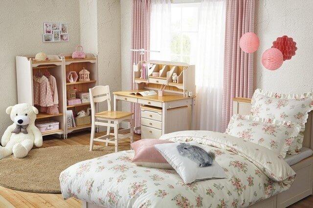 ニトリの女の子向け子ども部屋,ニトリ,子ども部屋,