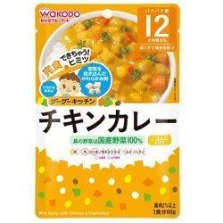 【12個セット】グーグーキッチン チキンカレー (80g),離乳食,カレー,