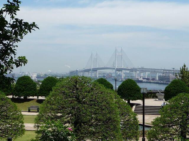 港の見える丘公園の見晴らし,ピクニック,公園,神奈川
