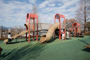 ぼうさいの丘公園の複合遊具,ピクニック,公園,神奈川