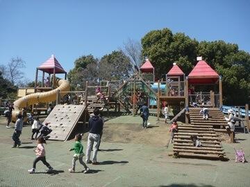 平塚市総合公園のわんぱく広場,ピクニック,公園,神奈川