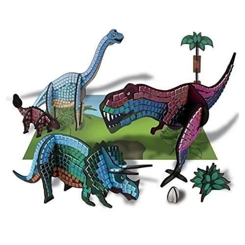 <ボーネルンド> 3Dスティッキーモザイク 恐竜のせかい,メイキングトイ,女の子,