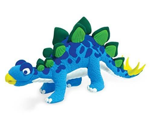 ジャンピングクレイ ダイナソーセット ステゴサウルス (JPC005) byパパジーノ,メイキングトイ,女の子,