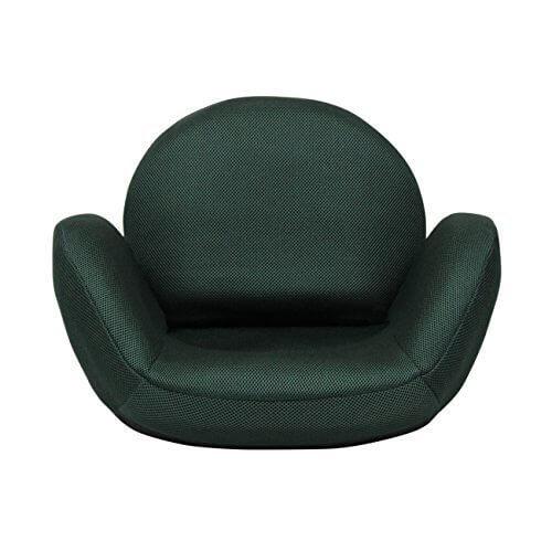 TEGOPO 座椅子 コンパクト メッシュタイプ 6段階調節リクライニング 骨盤 幅55cm*奥44cm*高41cm TZ001-M1 グリーン色,骨盤クッション,