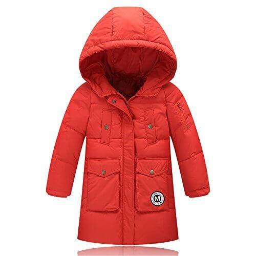 1838d84f50016  LHT shop ダウンジャケット ダウンコート キッズコート 女の子 ガールズ ダックダウンコート 子ども