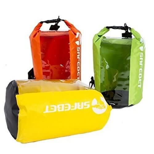 ギアード(GearD) 防水バッグ ドライバッグ 8L クリア窓 オレンジ ドライチューブ ドラム型 2WAY ショルダーバッグ (3.オレンジ8L),キッズ,バッグ,