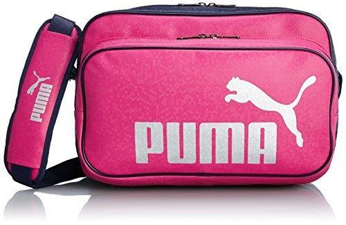 [プーマ] PUMA TS Mat Type B Shoulder M 072404 14 (フューシア ローズ/シルバー メタリック/ピーコート),キッズ,バッグ,