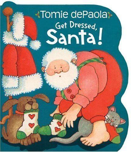 Get Dressed, Santa!,クリスマス,絵本,