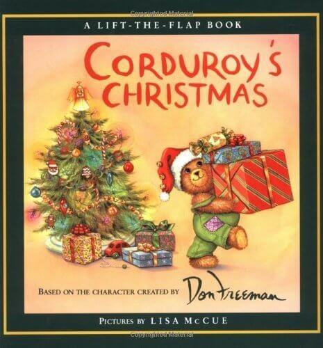 Corduroy's Christmas,クリスマス,絵本,