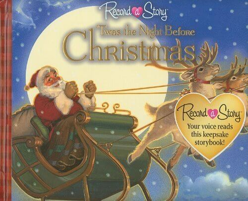 Twas the Night Before Christmas (Record a Story),クリスマス,絵本,