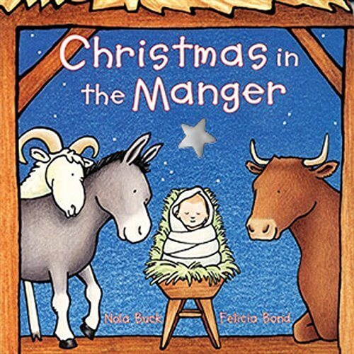 Christmas in the Manger Board Book,クリスマス,絵本,