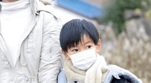 風邪ひきの子ども,風邪,気管支炎,