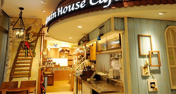 「ムーミンハウスカフェ」の店内風景,ムーミンハウスカフェ,