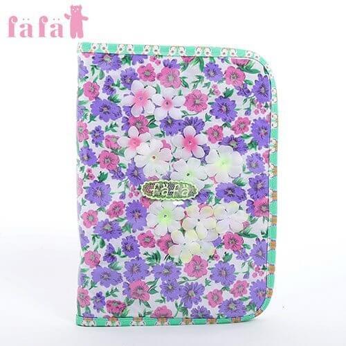 (フェフェ)fafa BABETTE DIARY CASE 母子手帳ケース PURPLE パープル L,母子手帳,ケース,ブランド