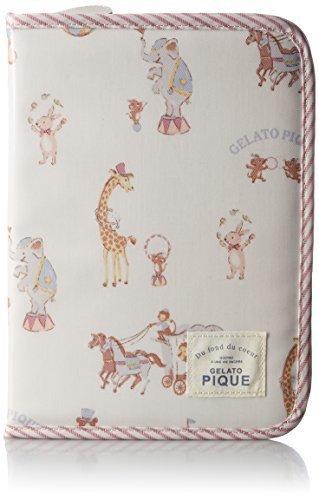 [ジェラート ピケ] gelato pique(ジェラート ピケ) アニマルサーカス柄母子手帳ケース PWGG164730 66 (PNK),母子手帳,ケース,ブランド