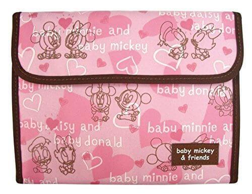 クーザ ジャバラ式母子手帳ケース (ベビーミッキー&フレンズ) DMM-2202,母子手帳,ケース,ブランド