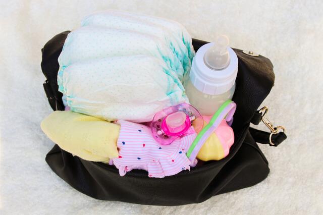 赤ちゃんのおむつや授乳用品,産後1ヶ月,過ごし方,