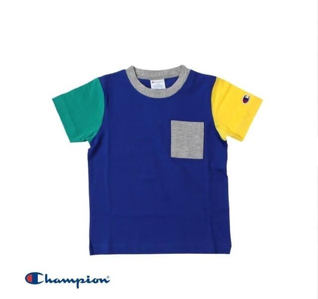 Champion ワンポケットクレイジーTシャツ,子供服,BREEZE,