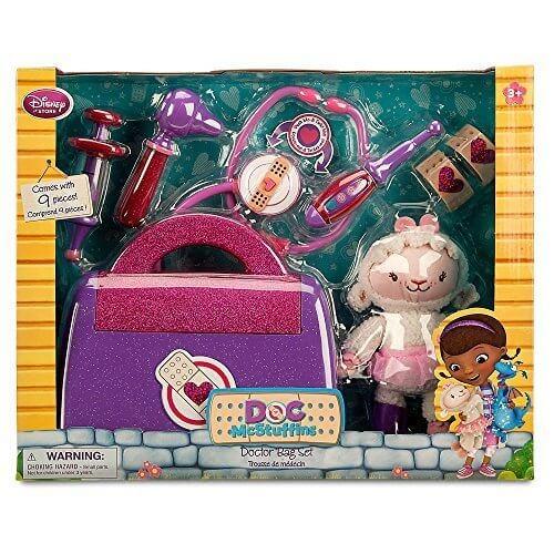 Disney(ディズニー) Doc McStuffins Doctor Bag Play Set ランビードクターバッグセット 【並行輸入品】,ディズニー,人気アニメ,ドックはおもちゃドクター