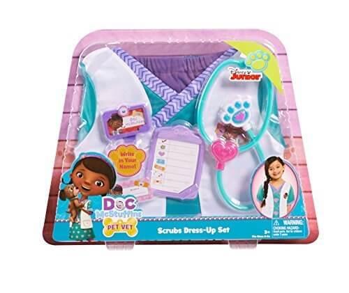 ディズニー (Disney) ドックはおもちゃドクター 獣医さん コスチューム セット 小物付き キッズ 4-6才 コスプレ 女の子 [並行輸入品],ディズニー,人気アニメ,ドックはおもちゃドクター