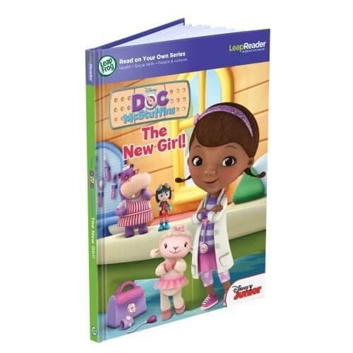 リープフロッグ(LeapFrog) ドックマクスタッフィン(ドックはおもちゃドクター) LEAPREADER BOOK, DISNEY, DOC MCSTUFFINS 21400,ディズニー,人気アニメ,ドックはおもちゃドクター