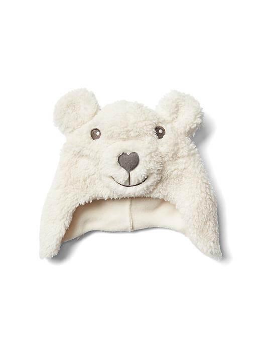 Cozy bear hat,ベビー,ニット帽,