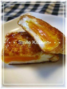 お弁当に(〃ゝω・)b目玉焼きの甘辛煮♫,お弁当,卵,