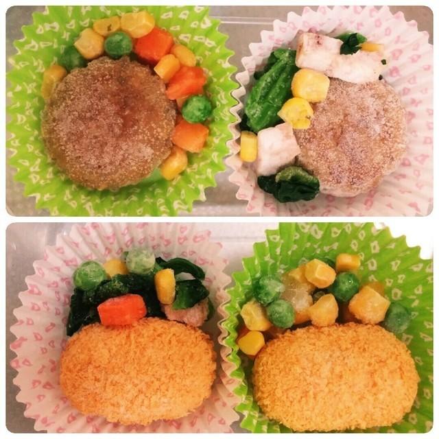 ♡冷凍食品でアレンジ②♡,お弁当,冷凍食品,