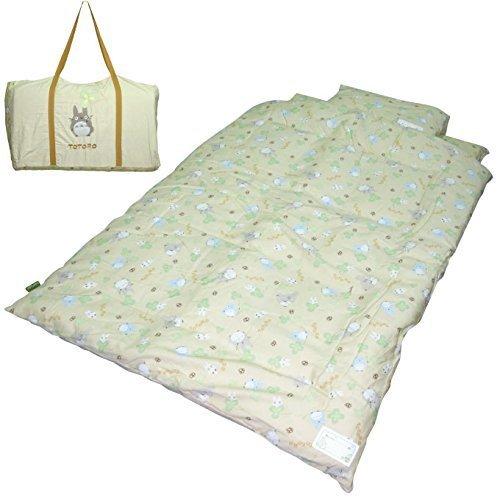お昼寝布団セット となりのトトロすこやか お昼寝ふとん7点セット カバータイプ 洗えるキャリーバッグ付,保育園,入園,持ち物