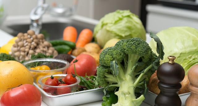 野菜,子ども,おやつ,
