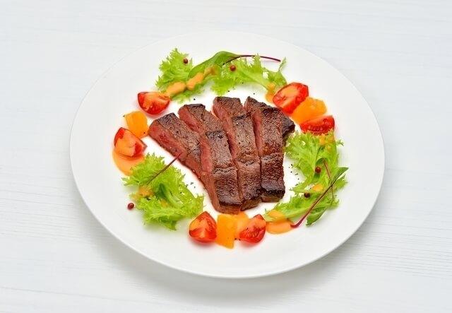 ステーキ,食事マナー,