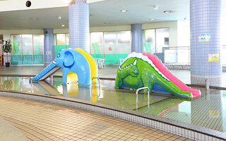 かすかべ湯元温泉の子どもプール,温水プール,埼玉,