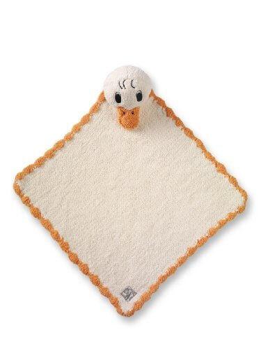 ≪1色≫kashwere (カシウェア カシウエア) Kashwére Kreature - Duck (ANIMAL MINI BLANKET) アニマルミニブランケット(KK-60-07-46) (38×38cm, Duck),出産祝い,ブランケット,