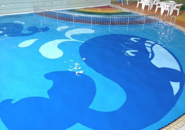 カルチバ新川プールの子ども用プール,愛知県,赤ちゃん,プール