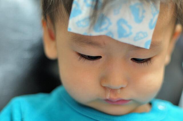 鼻風邪の子ども,滲出性中耳炎,赤ちゃん,