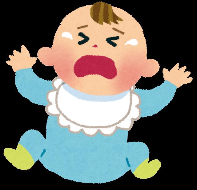 泣いている赤ちゃん,メンタルリープ,