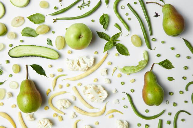 fresh organic green vegetables and fruits ,出産祝い,オーガニック,