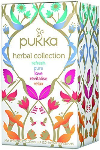 pukka(パッカ)  セレクションボックス有機ハーブティー20TB,出産祝い,オーガニック,