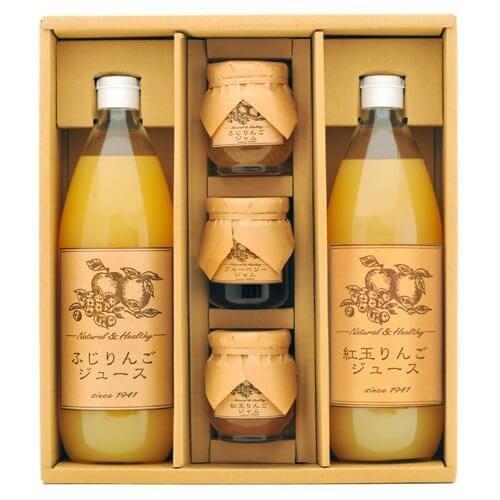 松井農園 ストレートりんごジュース・ジャムのセット ,出産祝い,オーガニック,